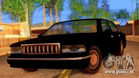 FBI Undercover Unmarked Premier pour GTA San Andreas