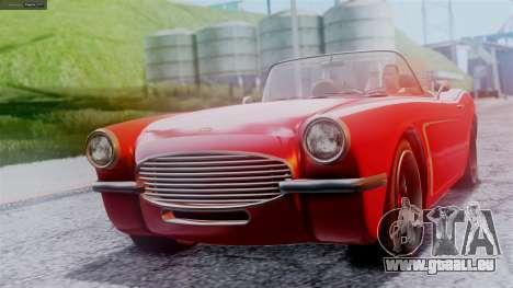 GTA 5 Invetero Coquette BlackFin IVF für GTA San Andreas