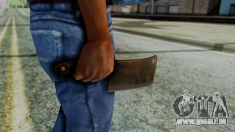 Cleaver from Silent Hill Downpour für GTA San Andreas dritten Screenshot