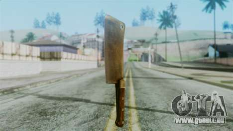 Cleaver from Silent Hill Downpour für GTA San Andreas