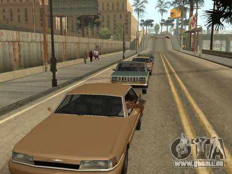 Manual Driveby pour GTA San Andreas