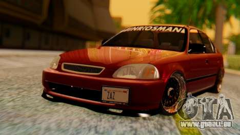Honda Civic JnR Tuning für GTA San Andreas
