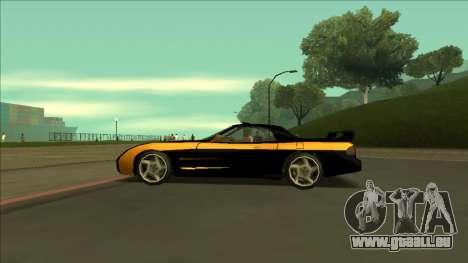 ZR-350 Road King pour GTA San Andreas vue de dessus