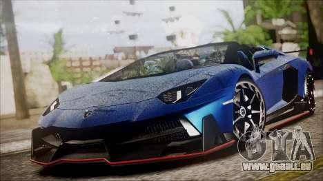 Lamborghini Veneno LP700-4 AVSM Roadster Version für GTA San Andreas