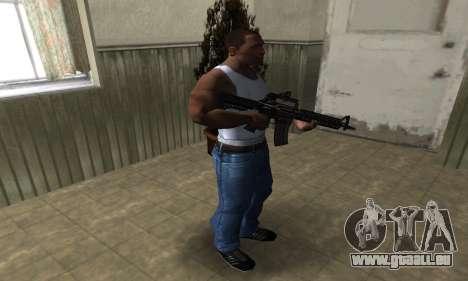 Brighty Leopard M4 für GTA San Andreas dritten Screenshot