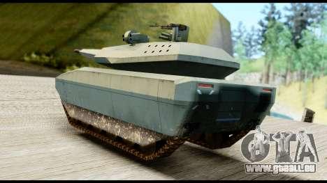 PL-01 Concept pour GTA San Andreas laissé vue