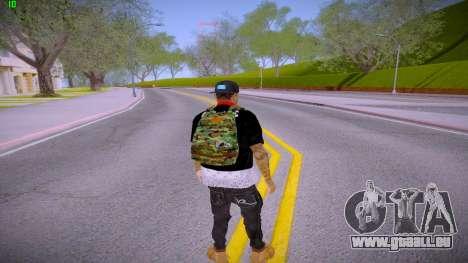 Fresco pour GTA San Andreas troisième écran