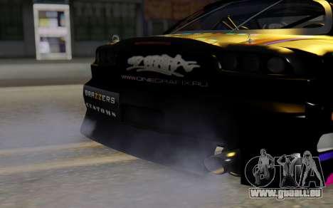 Mazda RX-7 pour GTA San Andreas vue arrière