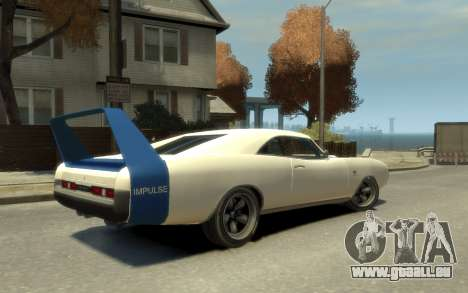 Dukes Impulse Daytona Stock Racing für GTA 4 linke Ansicht