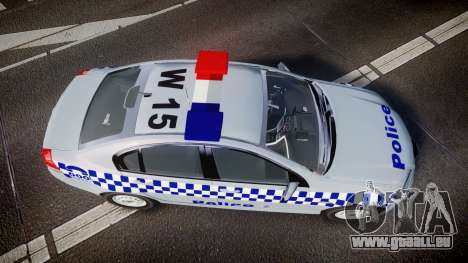 Holden Commodore Omega Victoria Police [ELS] pour GTA 4 est un droit