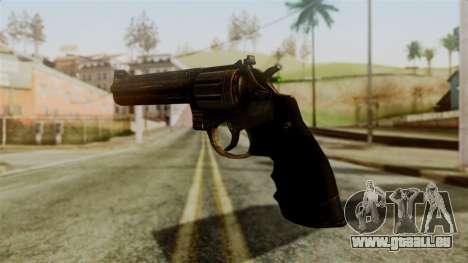 Colt Revolver from Silent Hill Downpour v1 für GTA San Andreas zweiten Screenshot