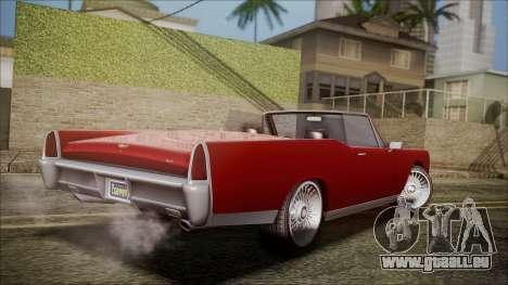 GTA 5 Vapid Chino für GTA San Andreas linke Ansicht