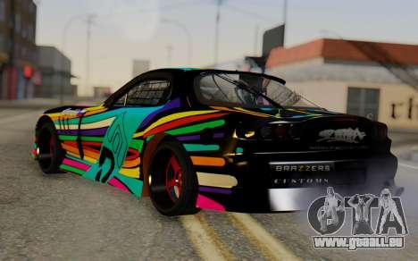 Mazda RX-7 für GTA San Andreas linke Ansicht