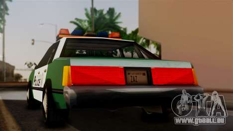 VCPD Cruiser pour GTA San Andreas laissé vue