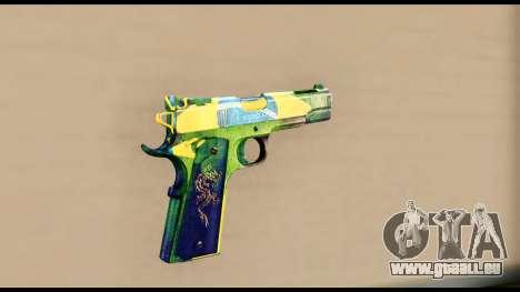 Brasileiro Pistol für GTA San Andreas zweiten Screenshot
