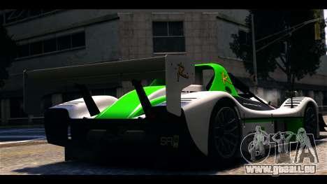 Radical SR8 RX pour GTA 4 est une gauche