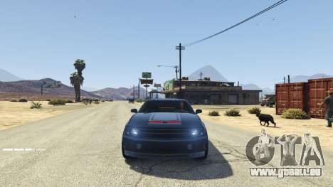 GTA 5 Knight Rider: K.I.T.T [.NET] 2.6.1 sechster Screenshot