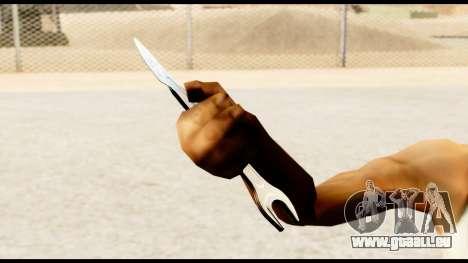 Schraubenschlüssel-Messer für GTA San Andreas her Screenshot