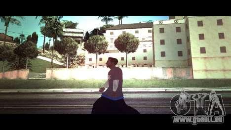 La peau traceur chaise alite RENOMMÉE Magasin pour GTA San Andreas deuxième écran