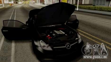 Mercedes-Benz SL65 E-Tuning für GTA San Andreas Rückansicht