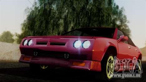 4-door Buffalo pour GTA San Andreas