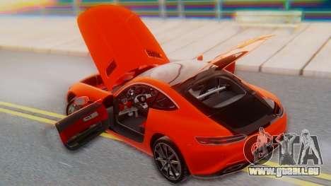 Mercedes-Benz SLS AMG GT pour GTA San Andreas vue de dessus