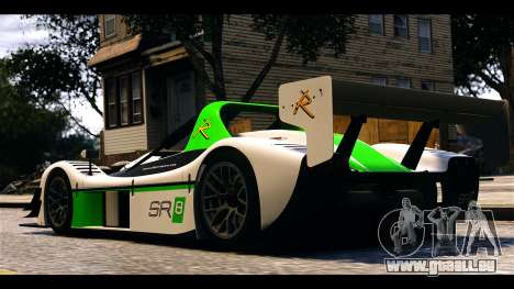 Radical SR8 RX pour GTA 4 Vue arrière de la gauche