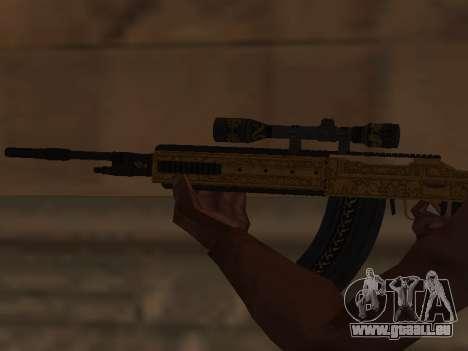 Marksman Rifle pour GTA San Andreas troisième écran