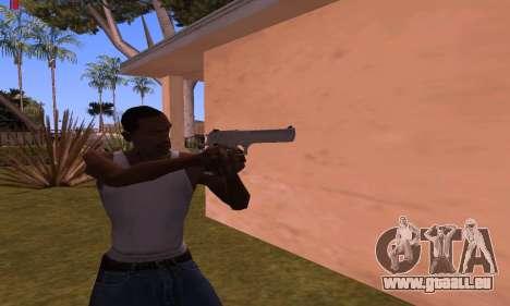 Deagle from Battlefield Hardline pour GTA San Andreas deuxième écran