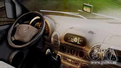 Mercedes-Benz Sprinter Ambulance Vittal für GTA San Andreas rechten Ansicht