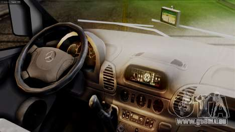 Mercedes-Benz Sprinter Ambulance Vittal pour GTA San Andreas vue de droite