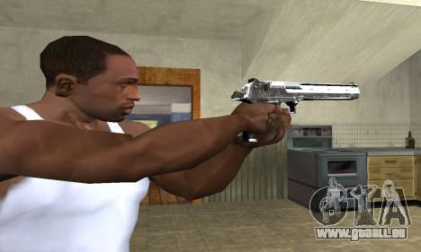 Flacon Deagle pour GTA San Andreas troisième écran