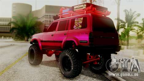 Burbuja Off Road pour GTA San Andreas laissé vue