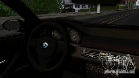 BMW 330i E46 YPX für GTA San Andreas zurück linke Ansicht