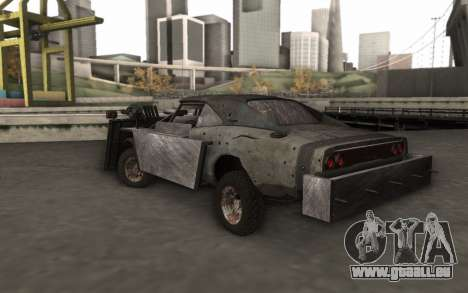 Dodge Charger Infernal Bulldozer für GTA San Andreas linke Ansicht