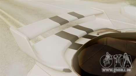 Toyota Supra Full Tuning für GTA San Andreas Rückansicht
