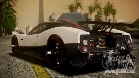 Pagani Zonda Cinque 2009 Autovista pour GTA San Andreas laissé vue