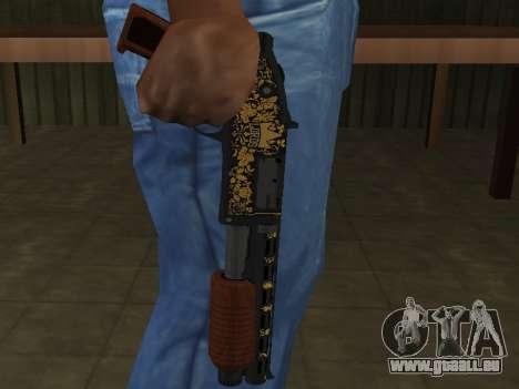 GTA 5 Sawed-Off Shotgun für GTA San Andreas