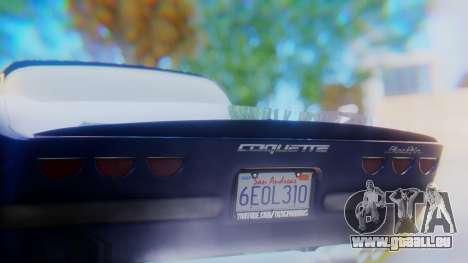 Invetero Coquette BlackFin v2 SA Plate für GTA San Andreas Unteransicht