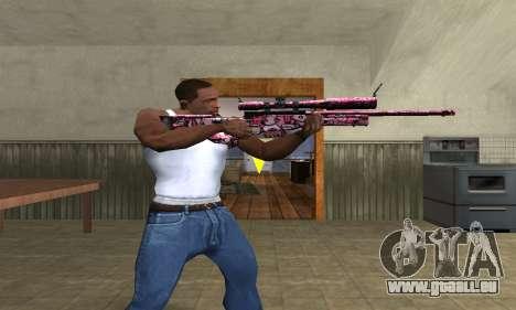 Lamen Sniper für GTA San Andreas dritten Screenshot