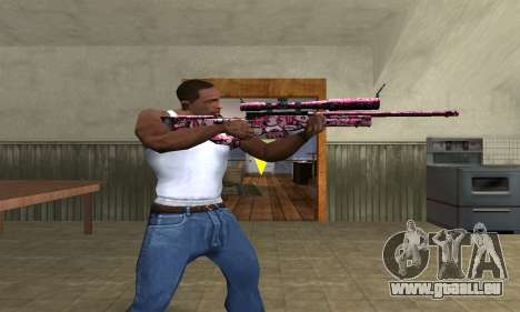 Lamen Sniper pour GTA San Andreas troisième écran