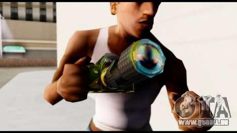 Brasileiro Camera pour GTA San Andreas troisième écran