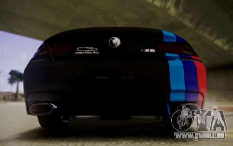 BMW M6 Cabrio pour GTA San Andreas vue de droite