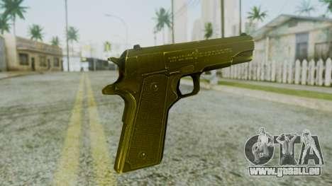M1911 Pistol pour GTA San Andreas deuxième écran