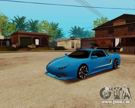 Infernus Lamborghini pour GTA San Andreas vue de droite