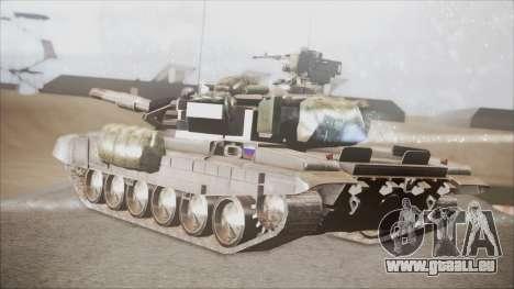 T-90A BF4 pour GTA San Andreas laissé vue