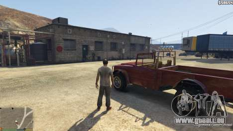 GTA 5 Trucking Missions 1.5 cinquième capture d'écran