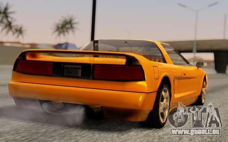 Infernus Hamann Edition Backup Standart für GTA San Andreas linke Ansicht