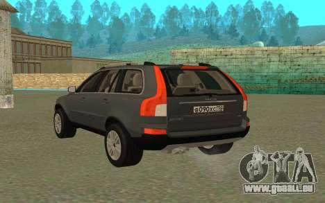 Volvo XC90 pour GTA San Andreas laissé vue