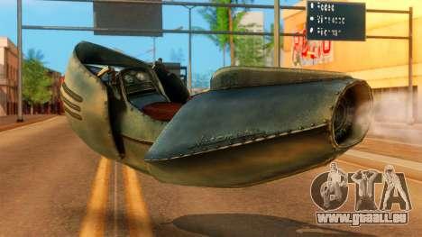 20-X Automatic pour GTA San Andreas laissé vue
